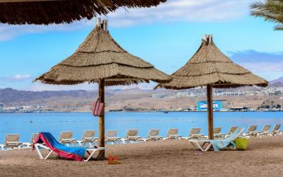 Herods Palace - pláž