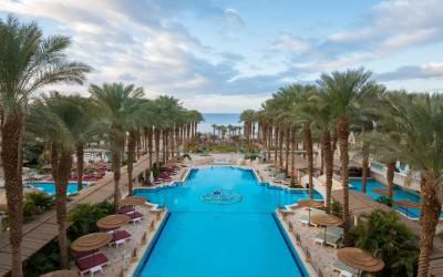 Herods Palace - venkovní bazén