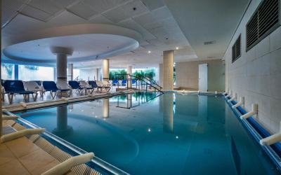 Isrotel Ganim Hotel Dead Sea - Spa - vnitřní bazén