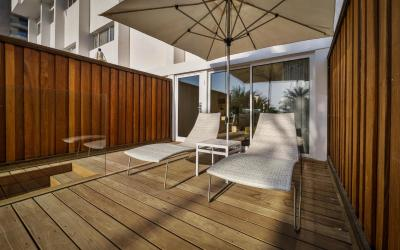 Isrotel Ganim Hotel Dead Sea - Garden Room - terasa