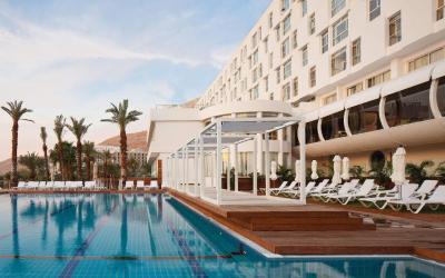 Isrotel Ganim Hotel Dead Sea - venkovní bazén