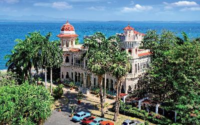 Palacio de Valle in Cienfuegos AdobeStock_134367420