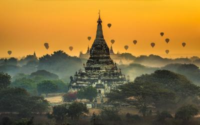 Bagan sunrice