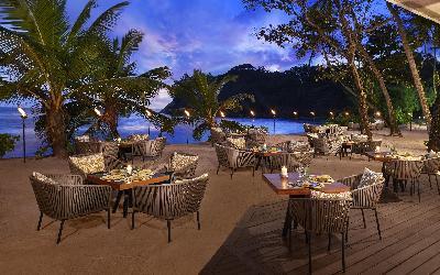 restaurace Tamarind beach