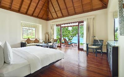 pokoj Beachfront villa | 440 Hilton Labriz