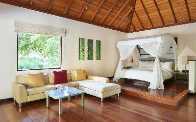 pokoj Deluxe Beachfront pool villa | 440 Hilton Labriz
