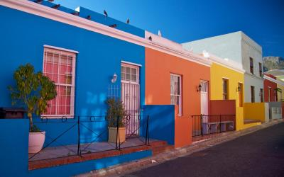 Cape Town | pestrobarevná čtvrť Bo-Kaap | Jižní Afrika
