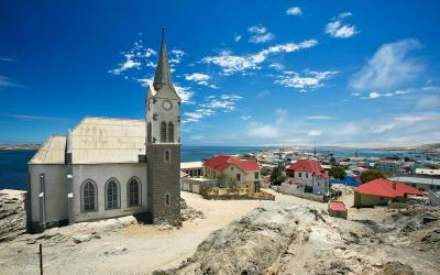 Luderitz: živá připomínka německého osídlení | Namibia