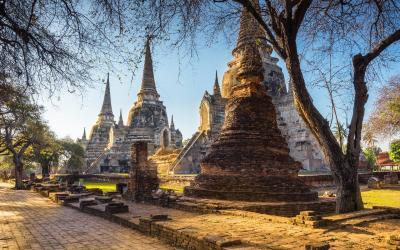 V Ayutthaya Park Phra Nakhon Si - bigstock--214297156