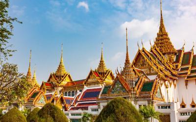 Bangkok Kralovsky palac