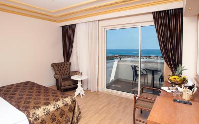 pokoj s výhledem na moře
