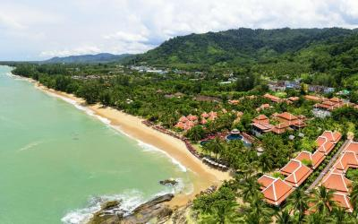 Khaolak Laguna Aerial view 1