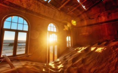 Namibie | městečko duchů Kolmanskop