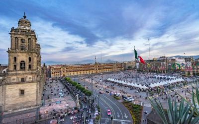 Mexico City Zocalo 2