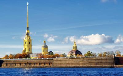 Rusko | Petrohrad _Petropavlovská Pevnosť