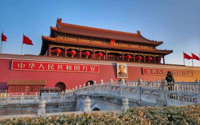 Čína   Peking_Tianmen Square