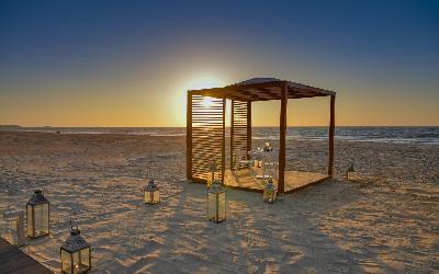 romatika na pláži