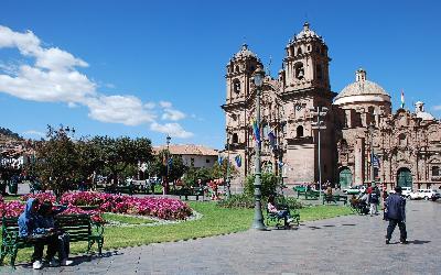 Peru   Cusco_Plaza de Armas