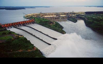 Brazília   Itaipú