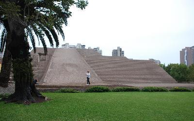 Peru    Pyramída Huaca Pucllana
