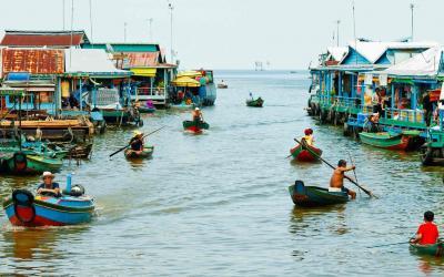 Kambodža | Tonlé Sap