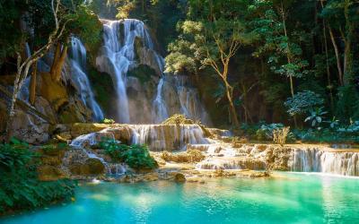 Laos | Kuang Si Falls