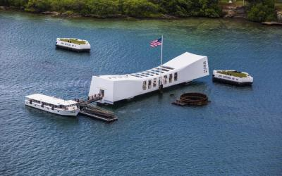 USA | Oahu - Pearl Harbor - Memorial Arizona