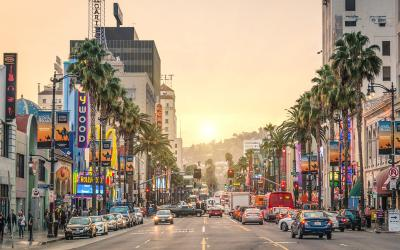 USA | Los Angles | Sunset Boulevard