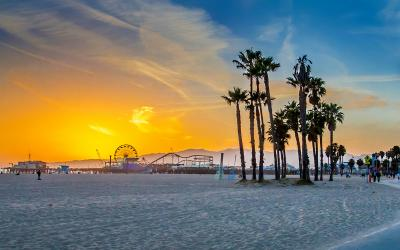 USA | Los Angles | Santa Monica Beach