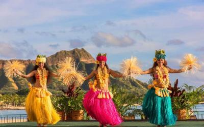 USA | Oahu - tanečnice