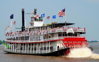 USA   New Orleans  - plavba po Mississippi