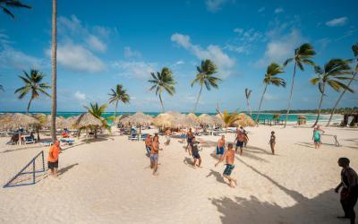 pláž aktivity