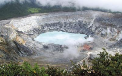 Kostarika | Poas Vulcano
