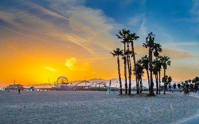 USA | Los Angles_Santa Monica Beach