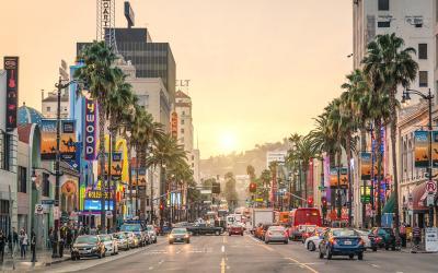 USA | Los Angles - Sunset Boulevard