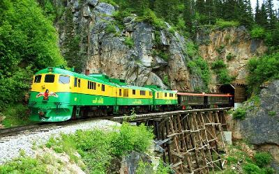 USA | White Pass_vlak