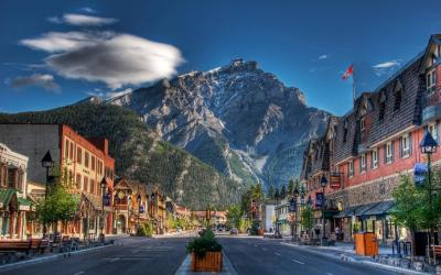 Kanada | Banff City