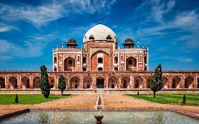 India | Dilií_Humayun's Tomb