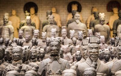 Čína | Xian_Terakotová armáda
