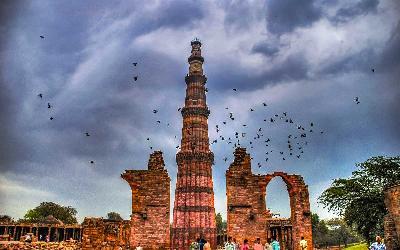 India | Dilií_Qutub Minar