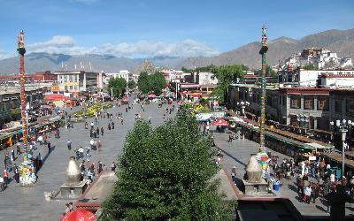 Tibet | Lhasa_Barkhor Square