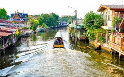 Thajsko | Bangkok_Chao Phraya River
