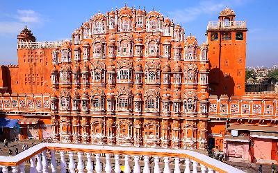 India | Jaipur_Hawa Mahal