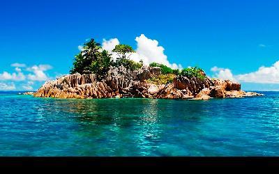 Seychely   Booby Island