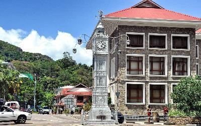 Seychely   Mahe_Victoria City