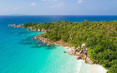 Seychely   Praslin Island