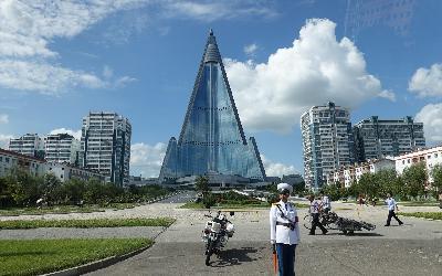 Severná Kórea   Hotel Ryugyong