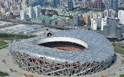 Čína   Peking_Olympic stadium