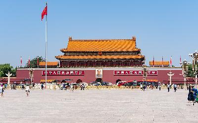 Čína   Peking_Tchien-an-men