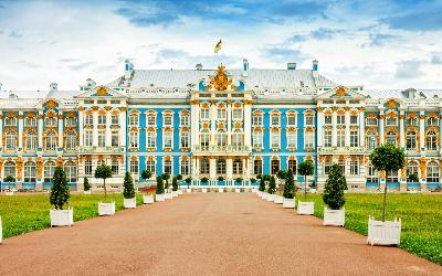 Rusko | Petrohrad_Catherine Palace
